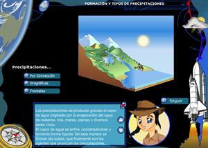 Formación y tipos de precipitaciones. 3º ciclo de Primaria