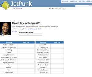 Movie Title Antonyms 2