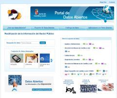 Portal de datos abiertos de la Junta de Castilla y León
