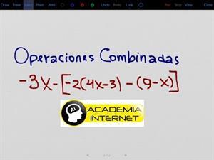 Multiplicación, suma y resta de expresiones algebraicas