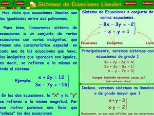 Ejercicios de Sistemas de Ecuaciones Lineales (Extemate)