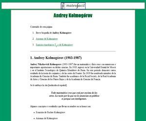 Espacio de Kolmogórov (T0)