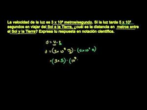 Notación científica 2 (Khan Academy Español)