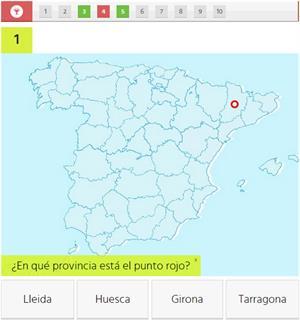 ¿Sabes localizar las provincias españolas? Test interactivo (huffingtonpost.es)
