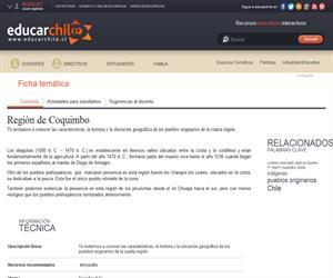 4ta Región Pueblos Originarios (Educarchile)