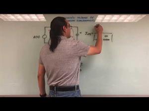 87. Aplicación Sistemas Ecuaciones Diferenciales Circuito RLC