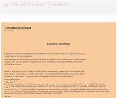 Contexto histórico de La Ilíada (Educarchile)