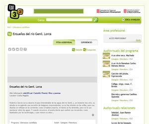 Ensueños del río Genil. Lorca (Edu3.cat)