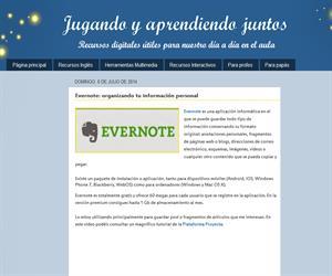 Evernote: organizando tu información personal