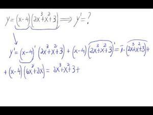Derivada - Producto de polinomios