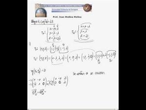 posición relativa de rectas y distancias entre rectas