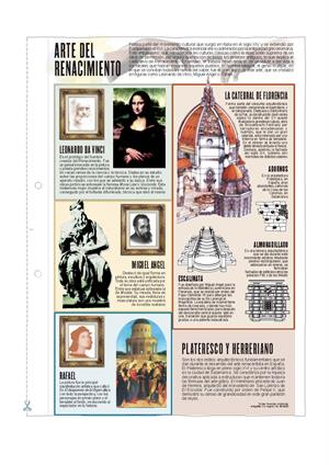Arte del Renacimiento. Láminas de El Mundo