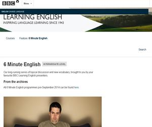 6 Minute English. Podcast para aprender Inglés (BBC Learning English)