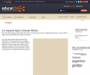 La orquesta típica (Antonio Berni) (Educarchile)