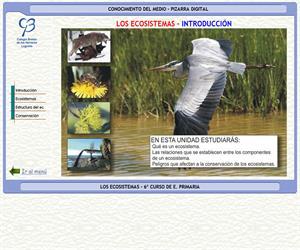 Los ecosistemas – Conocimiento del medio – 3º Ciclo de E. Primaria – Unidad didáctica.