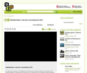 Manteniment i serveis a la producció (GS) (Edu3.cat)