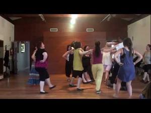 Boeren Plof, danza de Países Bajos -Curso de Fernando Polanco Uyá, Maoño (Cantabria) 2012-