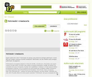 Noticiesdot i cinealacarta (Edu3.cat)