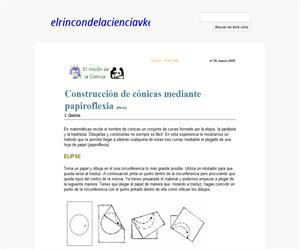 Construcción de cónicas mediante papiroflexia