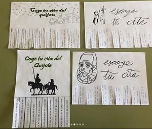 Proyecto colaborativo: el Quijote en secundaria.