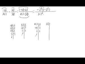 Multiplicación de números racionales