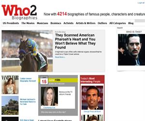 Who is who? Who2.com