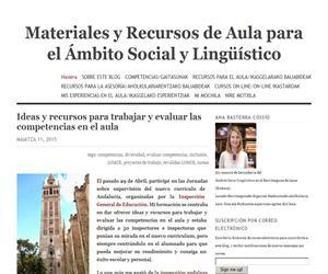 Materiales y Recursos de Aula para el ámbito social y lingüistico. Ana Basterra Cossío