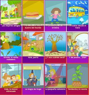 Childtopia: Fichas de comprensión oral y escrita para Educación Infantil y Primaria