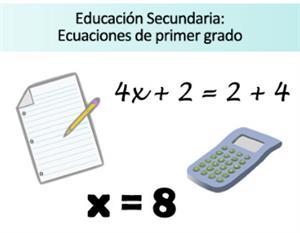 Ficha de ejercicios de Ecuaciones de Primer Grado