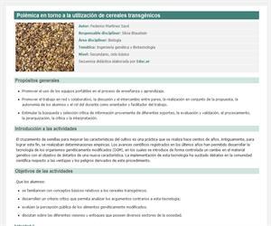 En busca de la semilla perdida: aspectos controversiales de la utilización de cereales transgénicos