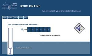Afina tu propio instrumento musical (score-on-line.com)