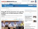 El 65,8% de los navarros cree que los políticos no se interesan por el bien común (noticiasdenavarra.com)