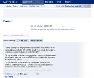 TextSTAT: software gratuito que analizar textos