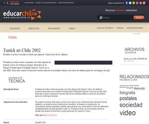 Tunick en Chile 2002 (Educarchile)