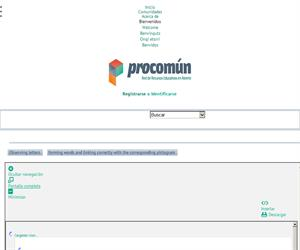 Observe, form words and link correctly (Proyecto Agrega)