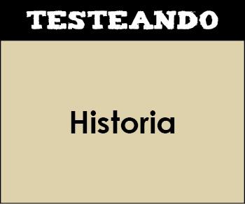 Historia - Asignatura completa. 2º ESO (Testeando)