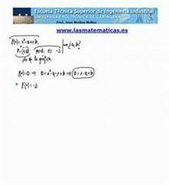 Recta tangente y pendiente (parámetros)