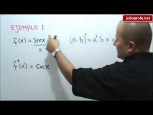 Reglas para derivar funciones trigonométricas (JulioProfe)
