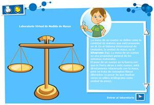 Medida de masas. Física y Química para 3º ciclo de Primaria