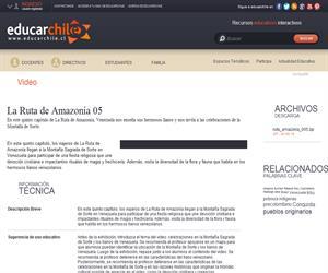 La Ruta de Amazonía 05 (Educarchile)
