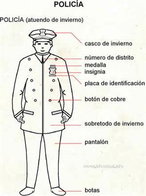 Policía (Diccionario visual)