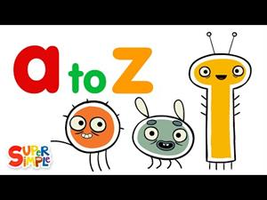 Alphabet for kids: learn letters a to z