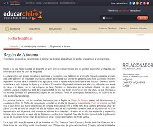 3era Región Pueblos Originarios (Educarchile)