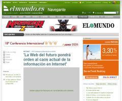 'La Web del futuro pondrá orden al caos actual de la información en Internet' | Navegante | elmundo.es