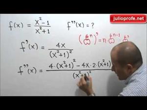 Segunda derivada de una función racional (JulioProfe)