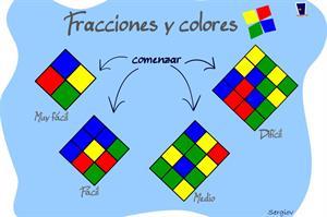 Fracciones y colores