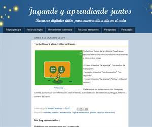 Torbellinos 5 años, Editorial Casals