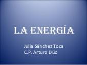 La energía, presentación para primaria