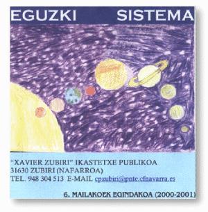 Eguzki sistema. El sistema solar en euskera