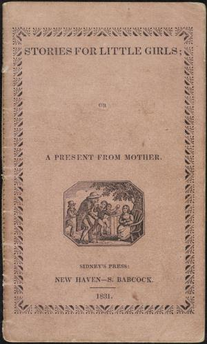 Stories for little girls or A present from mother (International Children's Digital Library)